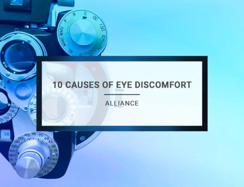10 Causes of Eye Discomfort